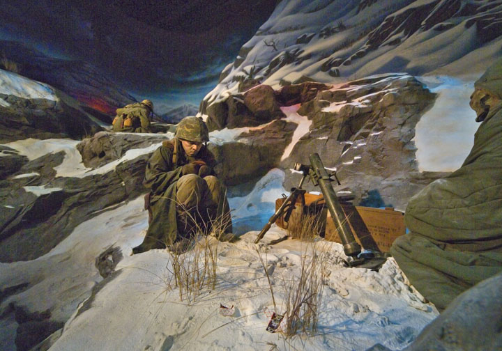 Frozen Chosin; Toktong Pass,  National Museum of the Marine Corp