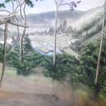 Denver-Zoo-fruit-bat-exihbit-murals-rice-paddies-Paul-Barker