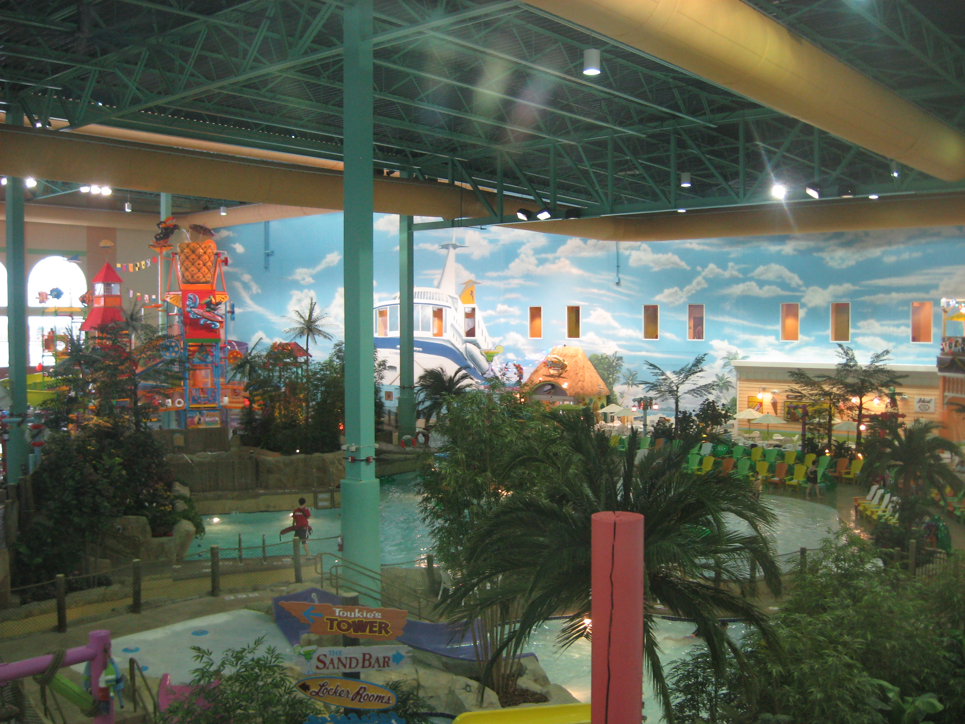 Key Lime Cove water park, Gurnee, IL (2)