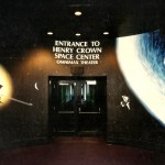 Space Center astronaut Museum of Science and Industry mural by Paul Barker