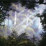 Blank-Park-Zoo-trees-framing-sunbeams-mural-Paul-Barker-Googleplex