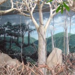 Brookfield-Zoo-Tropic-World-murals-by-Paul-Barker