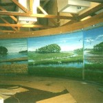 Seasons at Chincoteague, Visitor Center murals by Paul Barker