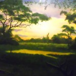 Erie-Zoo-genet-African-sunset-mural-Paul-Barker-Googleplex