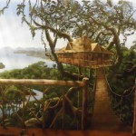 Erie-Zoo-treehouse-mural-detail-Paul-Barker-Googleplex