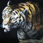 Henry-Vilas-Zoo-train-tunnel-tiger-painted-by-Paul-Barker