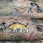 Henry-Vilas-Zoo-tunnel-petroglyphs-by-Paul-Barker