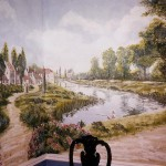 Impressionist-style-Italian-landscape-mural-Paul-Barker