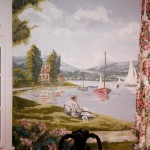 Impressionist-style-sailboats-mural-Paul-Barker