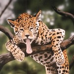 Leopard-mural-by-Paul-Barker-Rainforest-Cafe