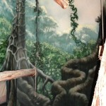 Philadelphia-Zoo-primate-rainforest-murals-Paul-Barker