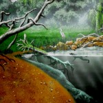 Red-Oak-Nature-Center-east-wall-mural-by-Paul-Barker