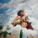 Greek-Restaurant-Bacchus-mural2-Paul-Barker