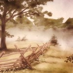 Civil-War-battlefield-mural-detail-Paul-Barker