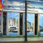 MacLean-Power-Products-skyline-mural-by-Paul-Barker