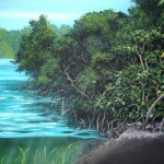 Smithsonian-Marine-Science-Center-Fort-Pierce-mangrove-wall-mural