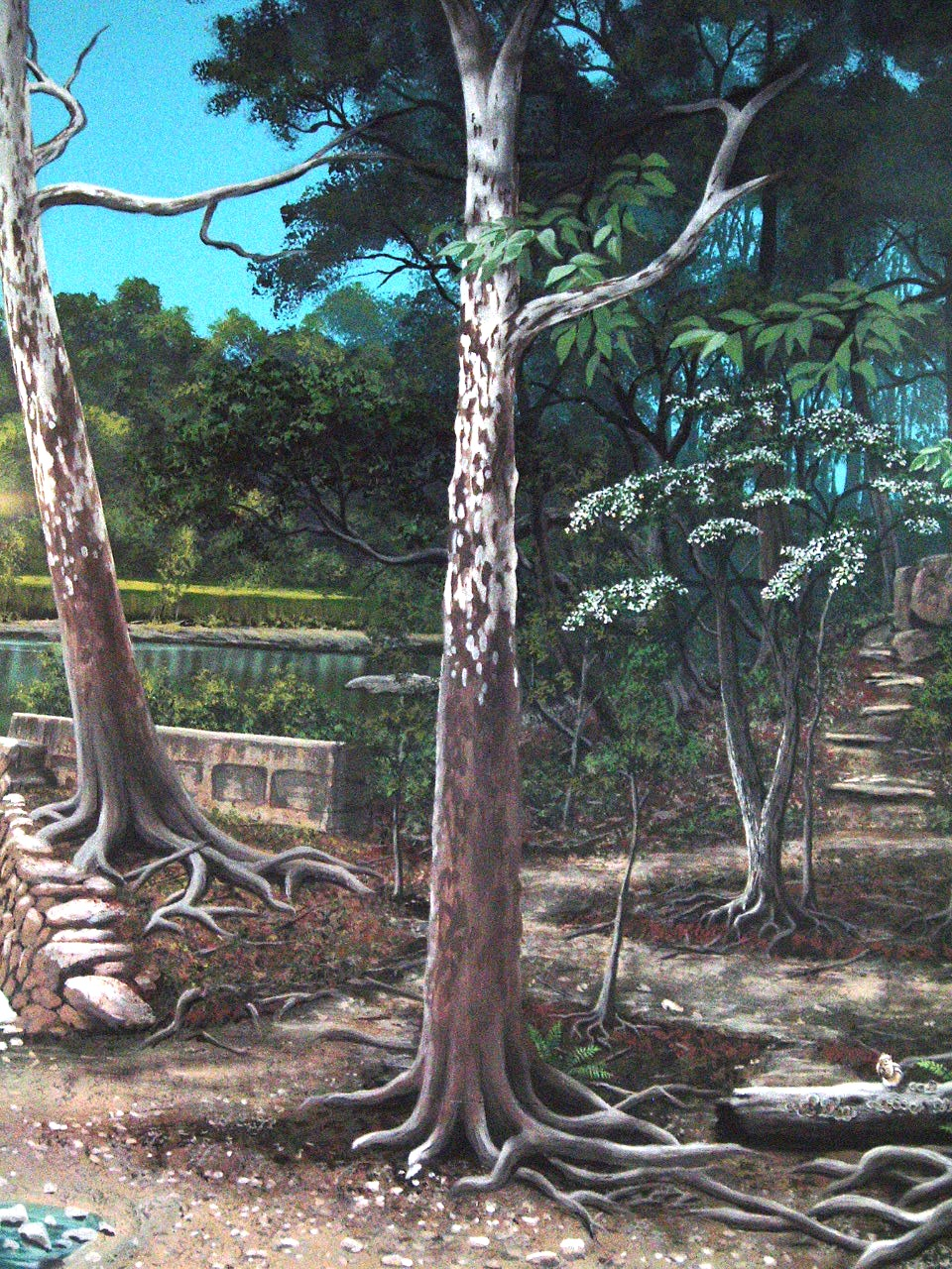 Pennypack-Environmental-Center-mural-trees-Paul-Barker