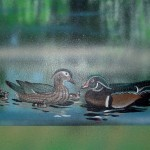 Wissahickon-Environmental-Center-murals-by-Paul-Barker-ducks